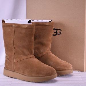 UGG Classic Short Waterproof Boots Chestnut A22-1D